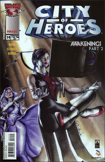 City of Heroes (2005) 14-A by Top Cow