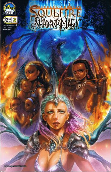 Michael Turner's Soulfire: Shadow Magic 3-A by Aspen