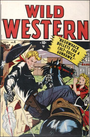 Wild Western 4-A by Marvel