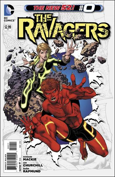 Ravagers 0-A by DC