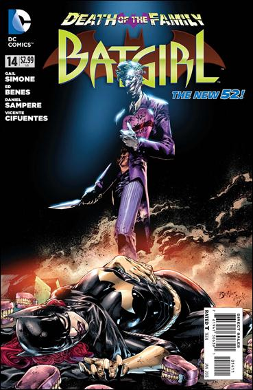 Batgirl (2011) 14-A by DC