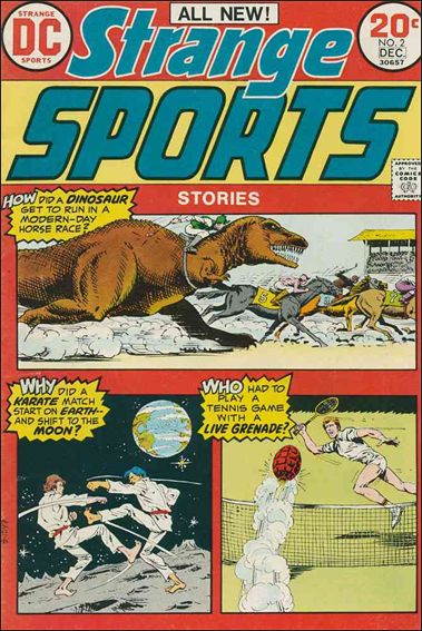 Strange Sports Stories (1973) 2-A by DC