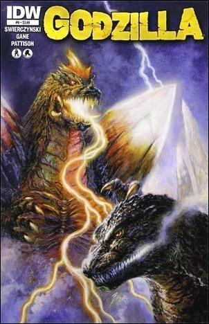 Godzilla (2012) 9-A by IDW