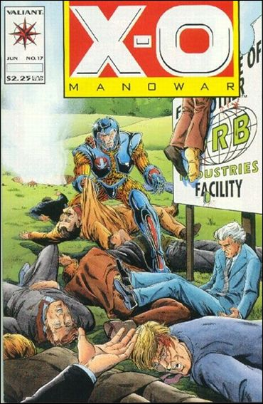 X-O Manowar (1992) 17-A by Valiant