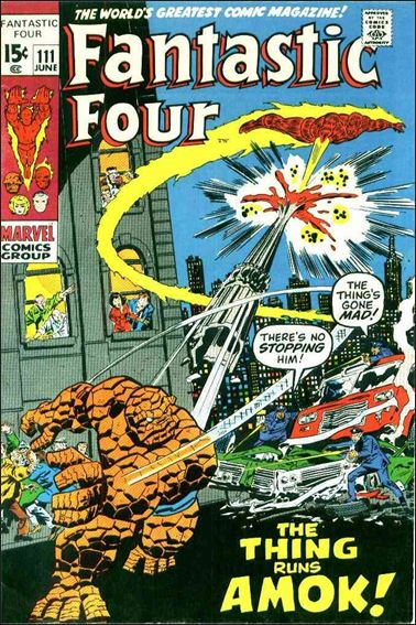Fantastic Four (1961) 111-A by Marvel