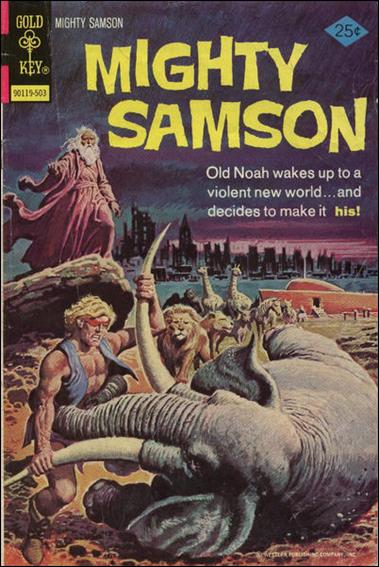 Mighty Samson (1964) 27-A by Gold Key