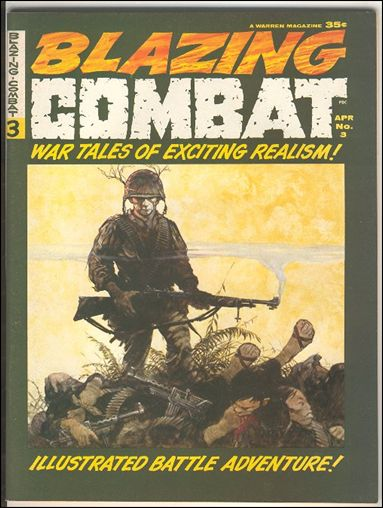 Blazing Combat 3-A by Warren