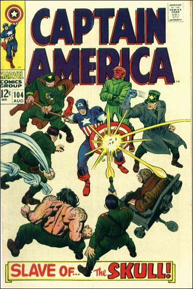 Captain America (1968) 104-A by Marvel