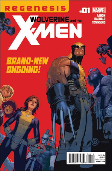 Wolverine & the X-Men 1-A by Marvel
