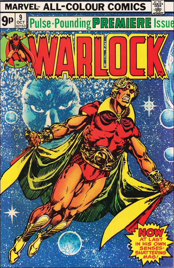 Warlock (1972) 9-B by Marvel