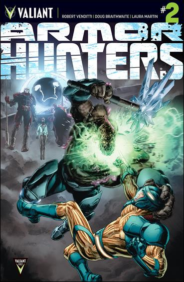 Armor Hunters 2-A by Valiant Entertainment