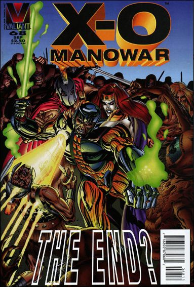X-O Manowar (1992) 68-A by Valiant