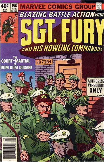 Sgt. Fury and His Howling Commandos 156-A by Marvel