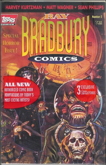 Ray Bradbury Comics 2-B by Topps