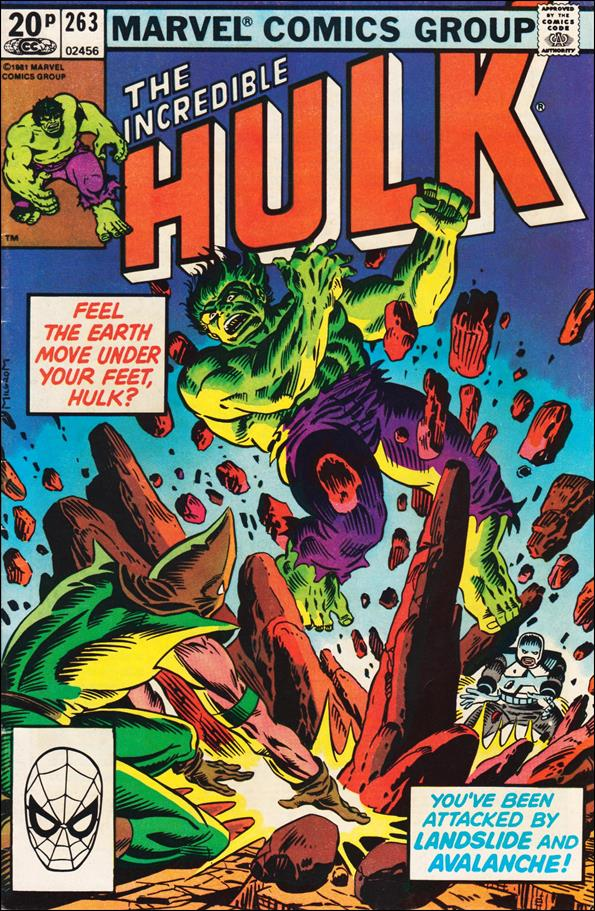 Incredible Hulk (1968) 263-B by Marvel