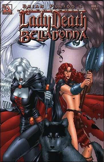 Medieval Lady Death Belladonna 1-C by Avatar Press