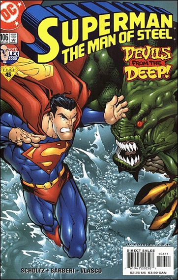 Superman: The Man of Steel 106-A by DC