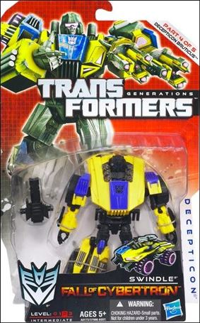 Transformers: Generations (Deluxe Class) Series 2 Swindle (Fall of Cybertron)