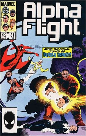 Alpha Flight (1983) 31-A