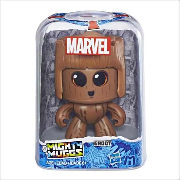 Marvel Mighty Muggs Wave 1 Groot by Hasbro