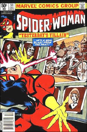 Spider-Woman (1978) 33-A by Marvel