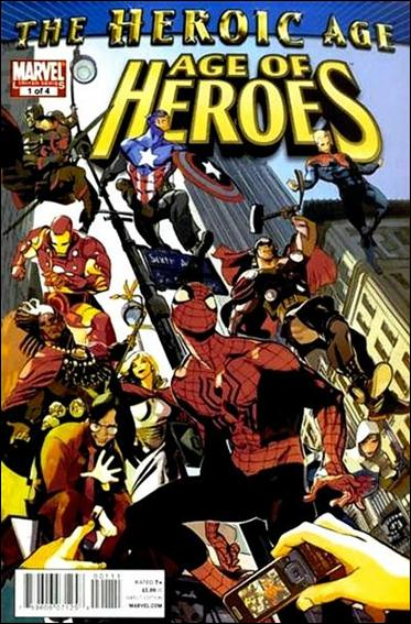 Age of Heroes (2010) 1-A by Marvel