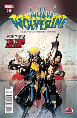 All-New Wolverine  6-A