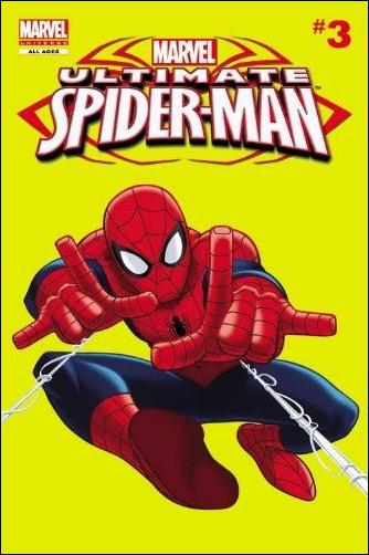 Marvel Universe Ultimate Spider-Man Comic Reader  3-A by Marvel
