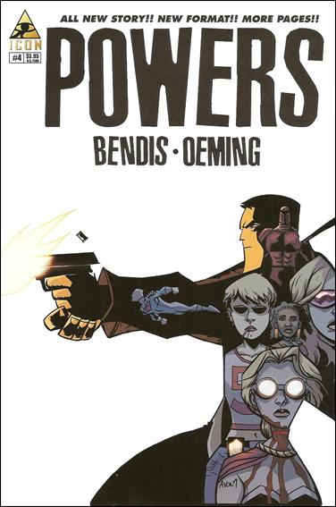 Powers (2009) 4-A by Icon