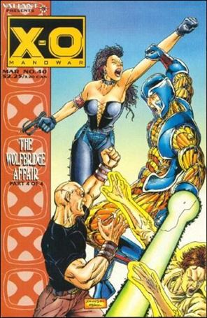 X-O Manowar (1992) 40-A