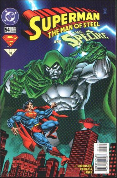 Superman: The Man of Steel 54-A by DC