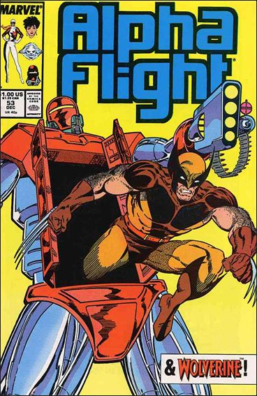 Alpha Flight (1983) 53-A by Marvel