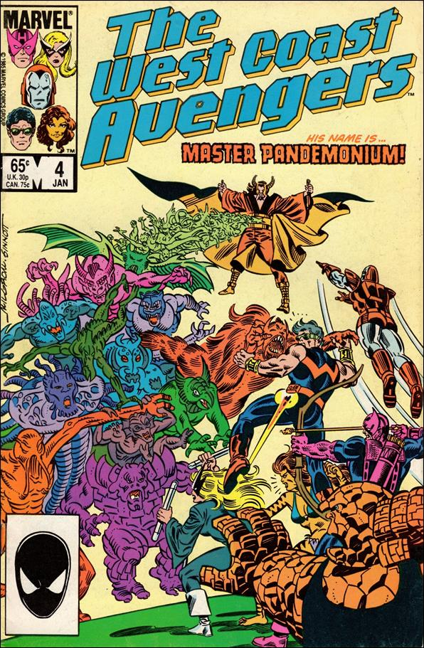 West Coast Avengers (1985) 4-A by Marvel