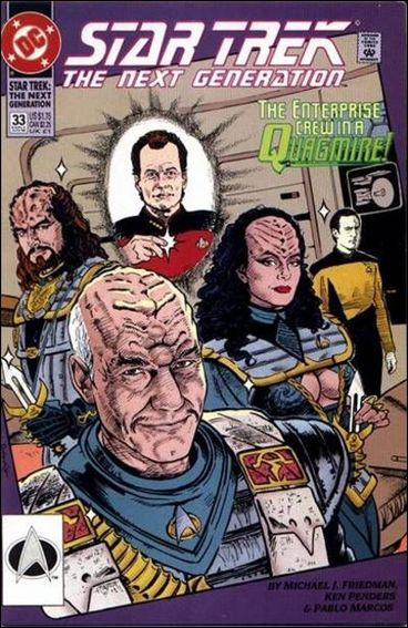 Star Trek: The Next Generation (1989) 33-A by DC