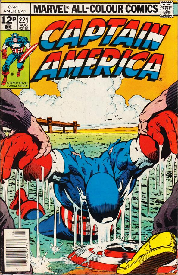 Captain America (1968) 224-B by Marvel