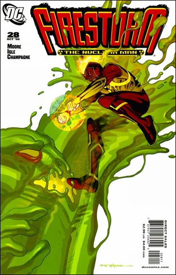 Firestorm: The Nuclear Man (2006) 28-A by DC