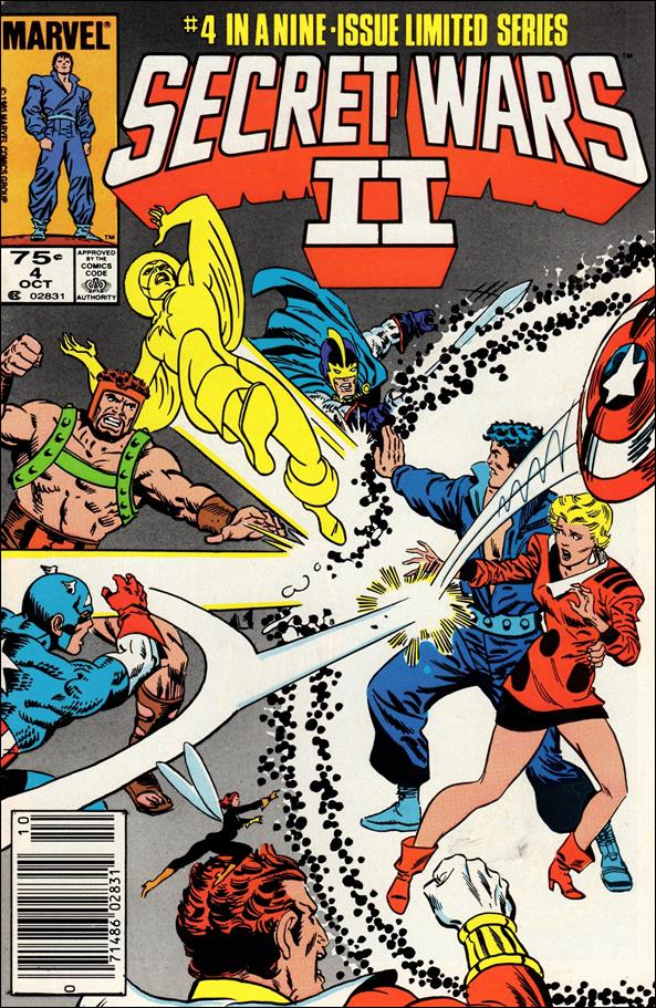 Secret Wars II 4-A by Marvel