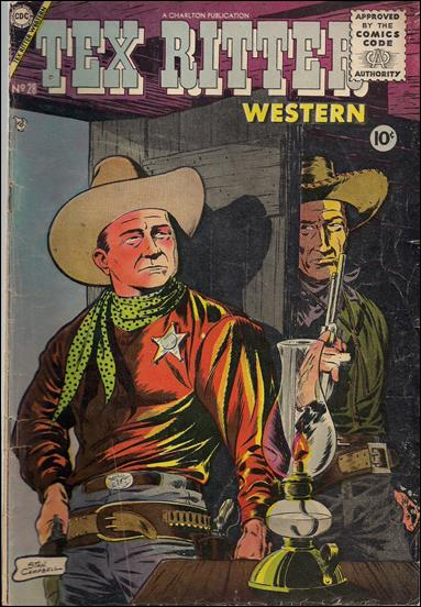 Tex Ritter Western 28-A by Charlton
