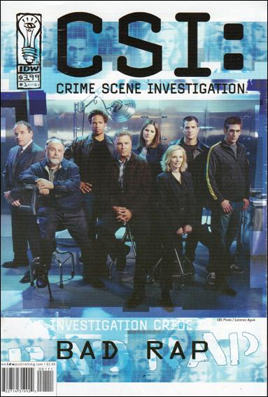 CSI: Crime Scene Investigation-Bad Rap 1-A by IDW