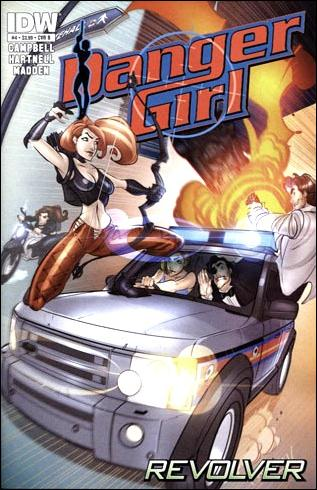Danger Girl: Revolver 4-B by IDW