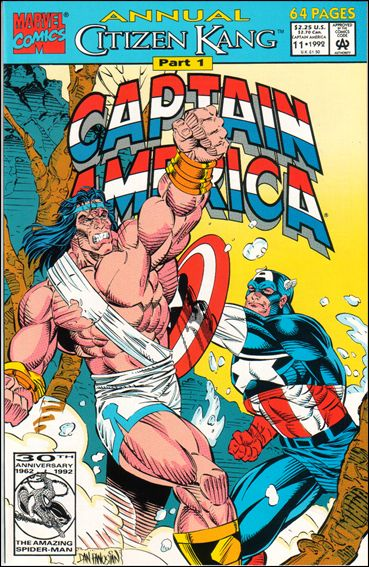 Captain America Annual 11-A by Marvel
