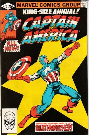 Captain America Annual 5-A