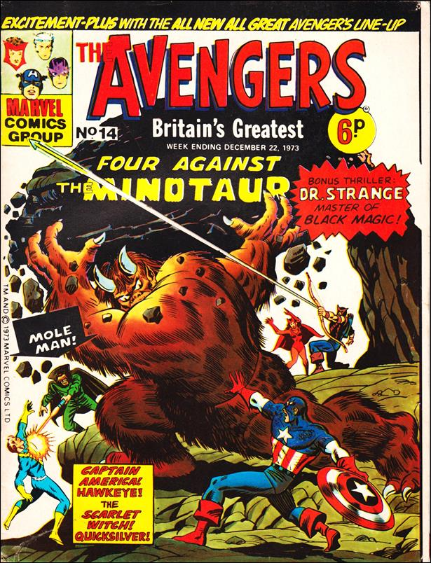 Avengers (UK) 14-A by Marvel UK