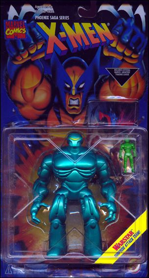 X-Men (Phoenix Saga Series)  Warstar (Long Card) by Toy Biz