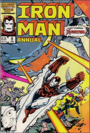 Iron Man Annual 8-A by Marvel