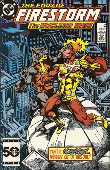 Fury of Firestorm 39-A by DC