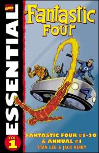 Essential Fantastic Four 1-C by Marvel