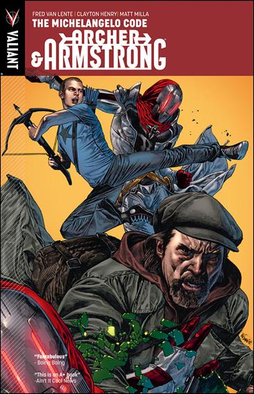Archer & Armstrong 1-A by Valiant Entertainment