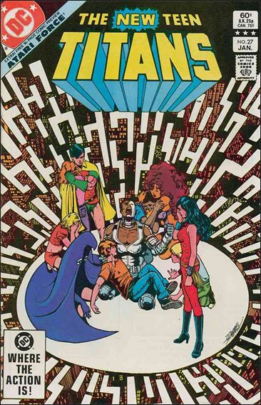 New Teen Titans (1980) 27-A by DC