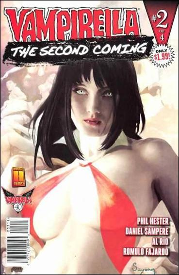 Vampirella: Second Coming 2-A by Harris
